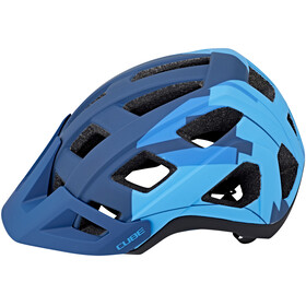 Cube Badger Helm blue camo